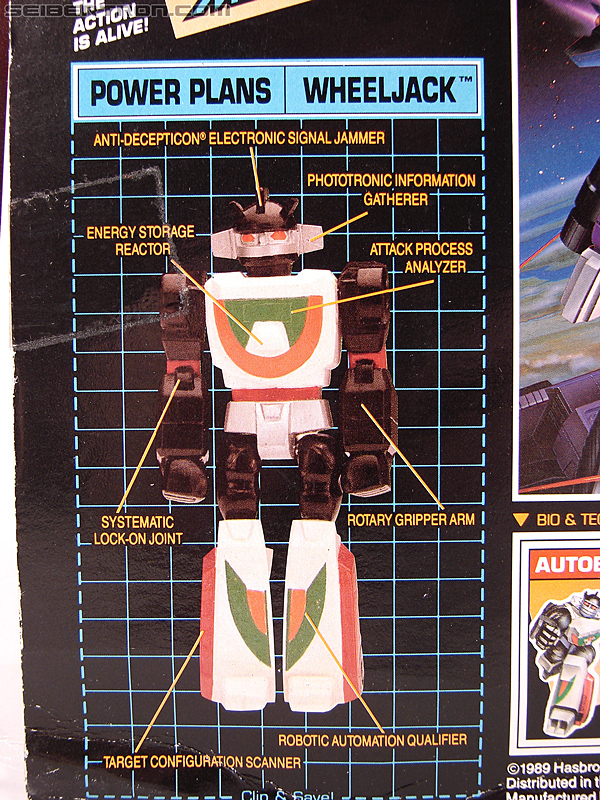Transformers G1 1990 Wheeljack with Turbo Racer (Image #16 of 178)