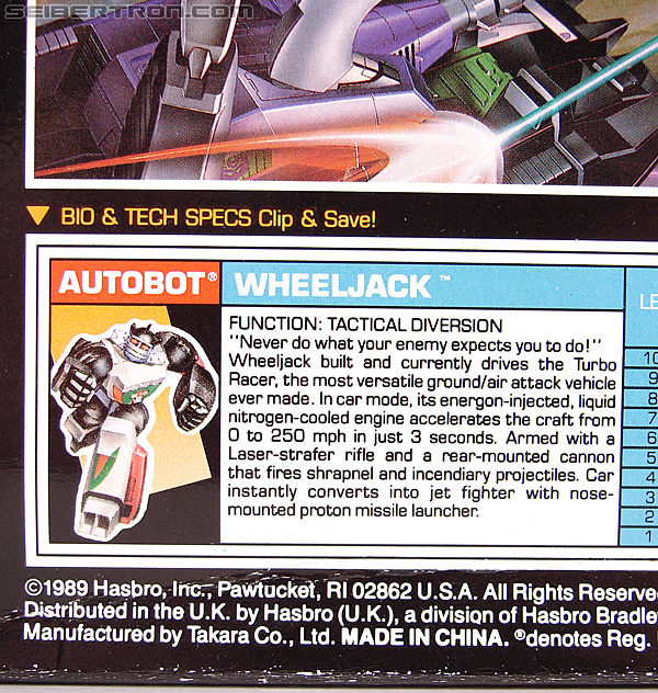 Transformers G1 1990 Wheeljack with Turbo Racer (Image #27 of 178)