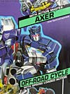 G1 1990 Axer with Off Road Cycle - Image #28 of 162