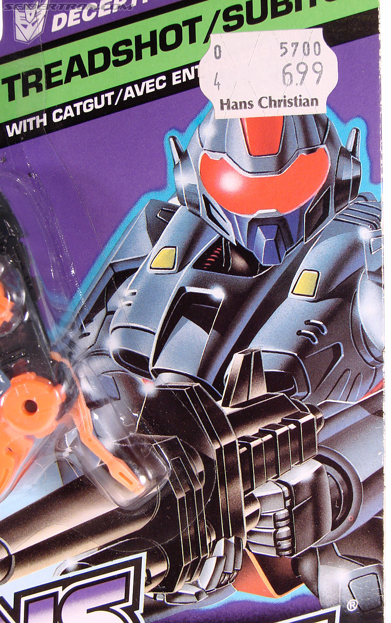 Transformers G1 1990 Treadshot with Catgut (Image #2 of 86)