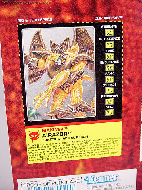 Transformers Beast Wars Airazor (Image #8 of 99)