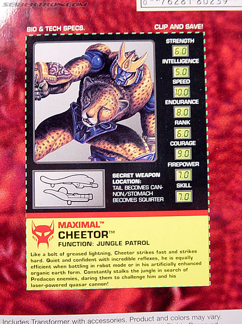 Transformers Beast Wars Cheetor (Chiitas) (Image #8 of 91)