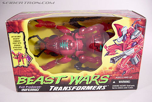Transformers Beast Wars Inferno (Image #1 of 104)