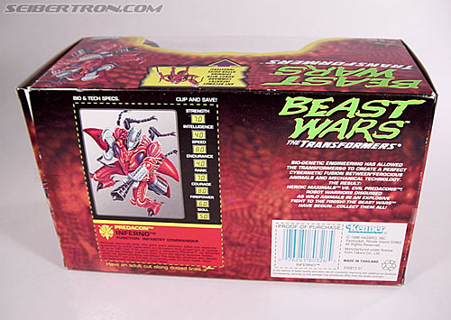 Transformers Beast Wars Inferno (Image #8 of 104)