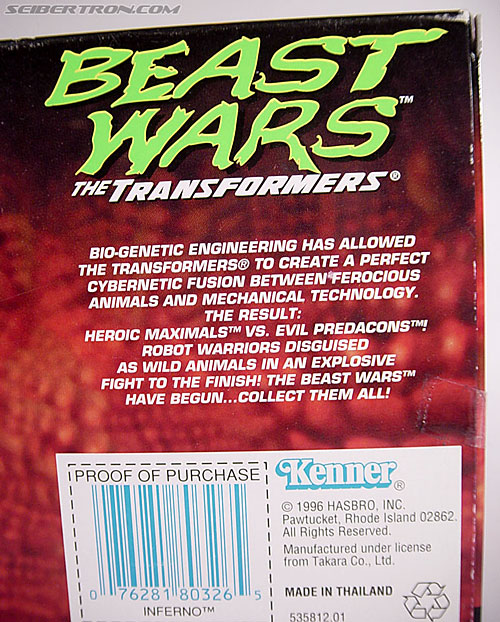 Transformers Beast Wars Inferno (Image #9 of 104)