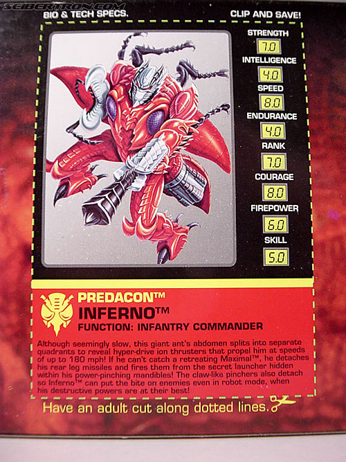 Transformers Beast Wars Inferno (Image #10 of 104)