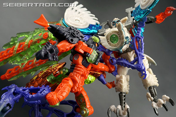 Transformers News: New Galleries: Beast Wars Transmetal 2 Prowl and Scourge