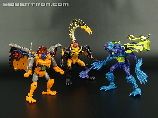 Transformers News: New Galleries: Beast Wars Transmetals 2 Spittor, Nightglider, and Stinkbomb