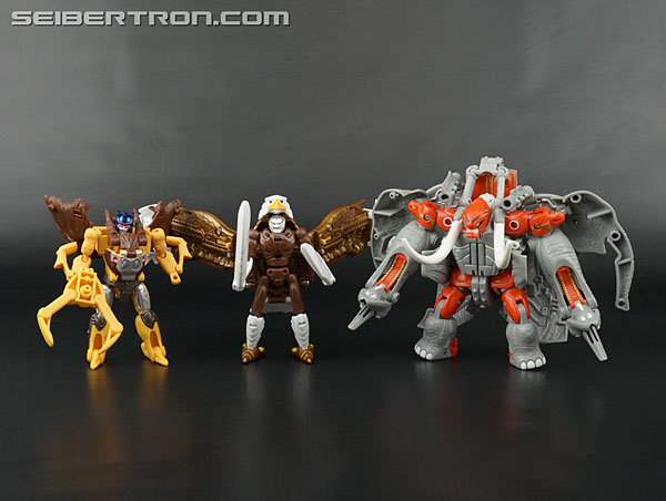 Transformers News: New Galleries: Beast Wars II X-4 Magnaboss with Lio Junior, Santon and Skywarp