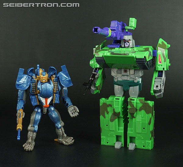Transformers News: New Galleries: Transformers Beast Wars II Megastorm, Gigastorm and Gigascouter