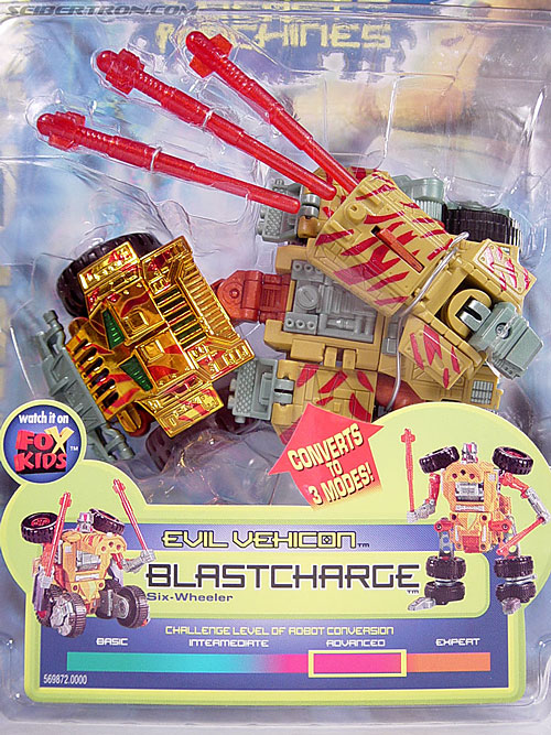 Transformers Beast Machines Blastcharge (Image #3 of 69)