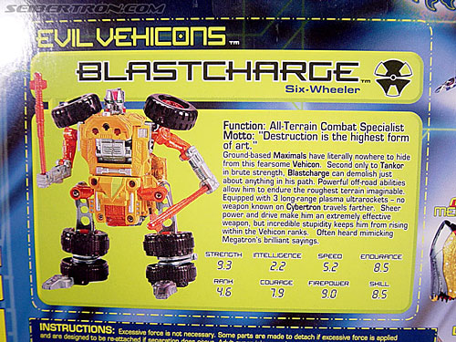 Transformers Beast Machines Blastcharge (Image #7 of 69)