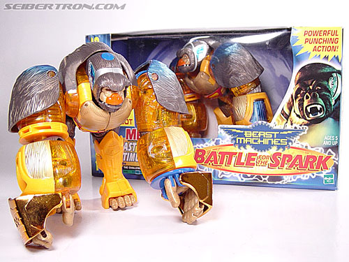 Transformers Beast Machines Blast Punch Optimus Primal (Beast Convoy) (Image #14 of 53)
