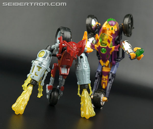 Transformers News: New Galleries: Beast Machines Tank Drone and Motorcycle Drone