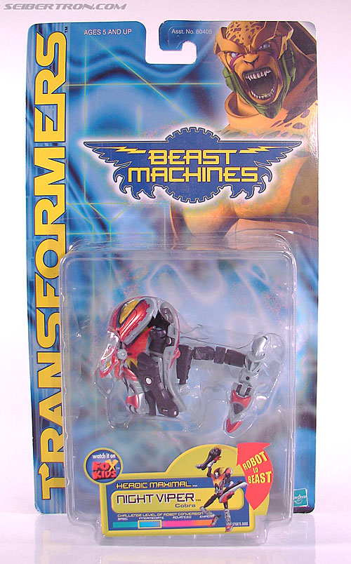 Transformers Beast Machines Night Viper (Image #1 of 135)