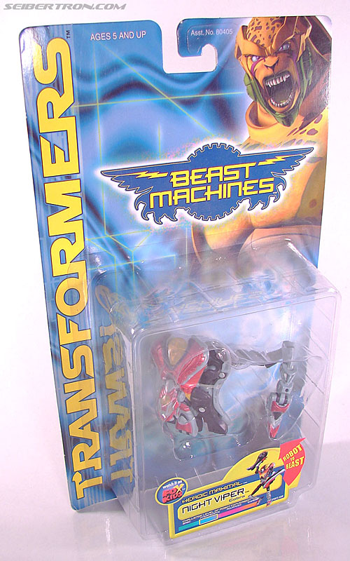 Transformers Beast Machines Night Viper (Image #3 of 135)