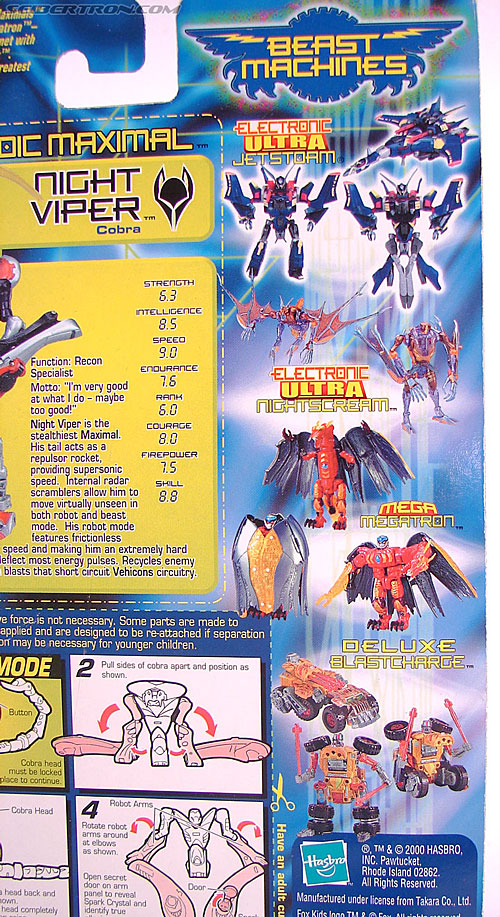 Transformers Beast Machines Night Viper (Image #5 of 135)