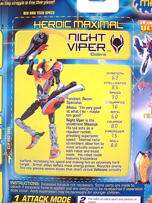 Transformers Beast Machines Night Viper (Image #6 of 135)