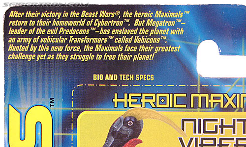 Transformers Beast Machines Night Viper (Image #7 of 135)