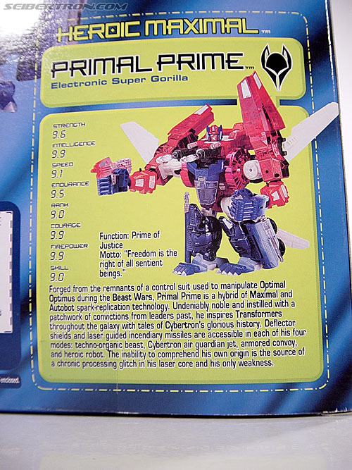 Transformers Beast Machines Primal Prime (Image #7 of 108)