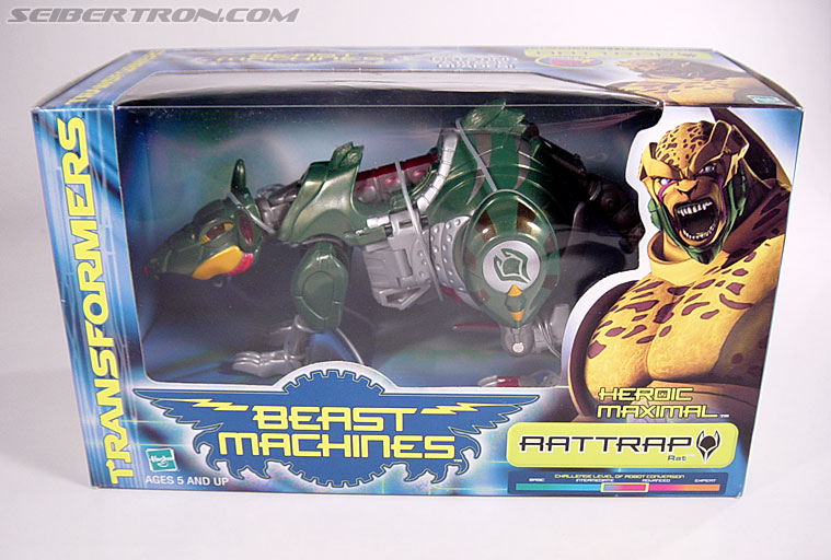 Transformers Beast Machines Rattrap (Rattle) (Image #1 of 127)