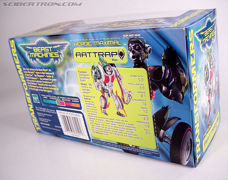 Transformers Beast Machines Rattrap (Rattle) (Image #6 of 127)