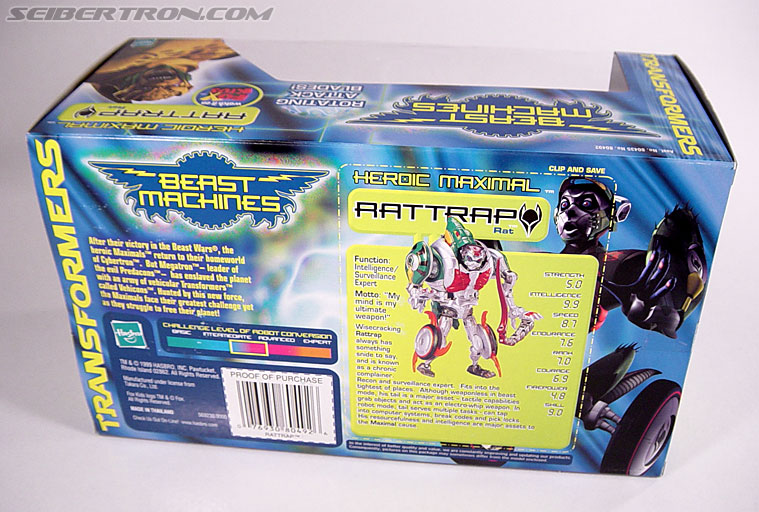 Transformers Beast Machines Rattrap (Rattle) (Image #7 of 127)