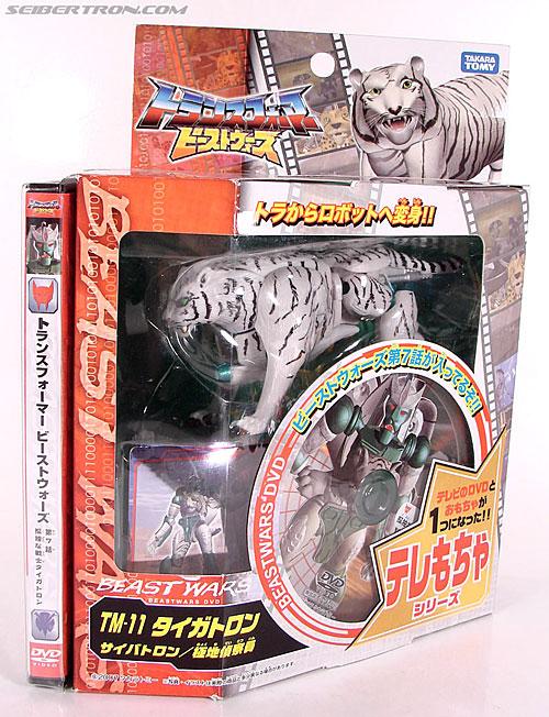Transformers Beast Wars Telemocha Series Tigatron (Reissue) (Image #1 of 123)