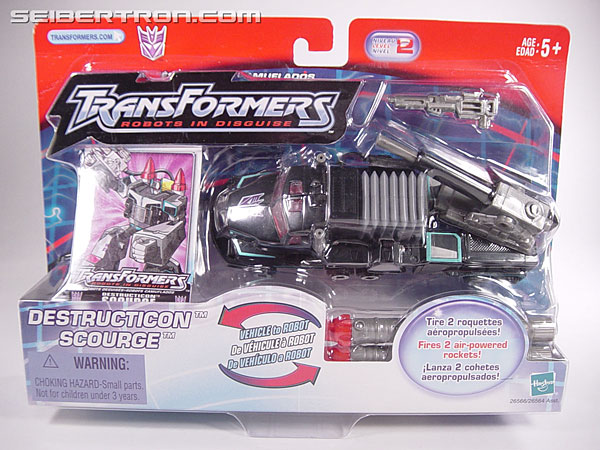 Transformers Robots In Disguise Scourge (Black Convoy) (Image #1 of 102)
