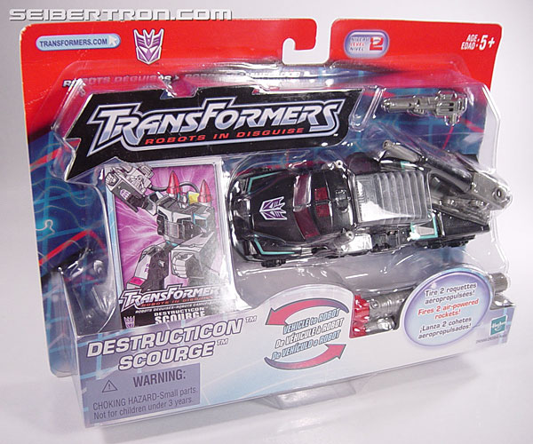 Transformers Robots In Disguise Scourge (Black Convoy) (Image #5 of 102)