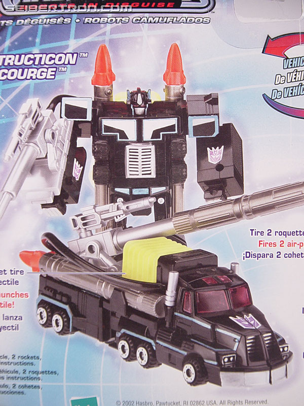 Transformers Robots In Disguise Scourge (Black Convoy) (Image #8 of 102)