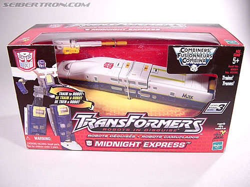 Transformers Robots In Disguise Midnight Express (J-4) (Image #1 of 61)