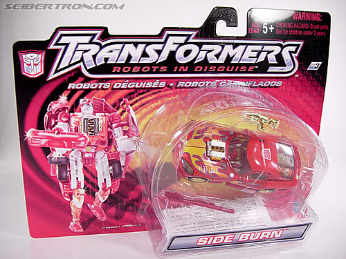 Transformers Robots In Disguise Side Burn (Image #1 of 52)