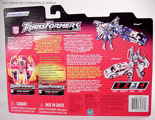 Transformers Robots In Disguise Side Burn (Image #5 of 52)