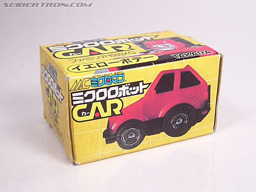 Transformers Micro Change MC04 Mini CAR Robo 02 XG1500 (Yellow) (Image #1 of 65)