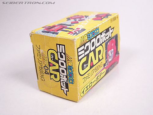 Transformers Micro Change MC04 Mini CAR Robo 02 XG1500 (Yellow) (Image #3 of 65)
