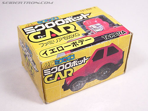 Transformers Micro Change MC04 Mini CAR Robo 02 XG1500 (Yellow) (Image #6 of 65)