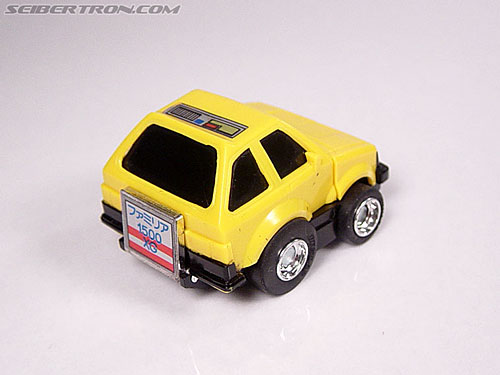 Transformers Micro Change MC04 Mini CAR Robo 02 XG1500 (Yellow) (Image #11 of 65)