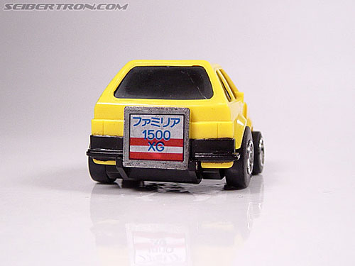 Transformers Micro Change MC04 Mini CAR Robo 02 XG1500 (Yellow) (Image #13 of 65)