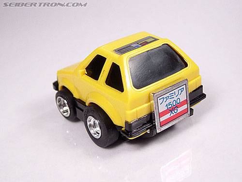 Transformers Micro Change MC04 Mini CAR Robo 02 XG1500 (Yellow) (Image #14 of 65)