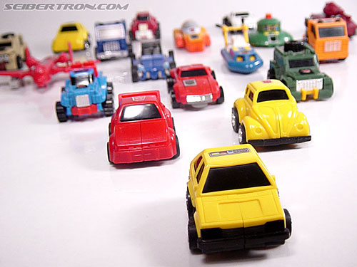 Transformers Micro Change MC04 Mini CAR Robo 02 XG1500 (Yellow) (Image #26 of 65)