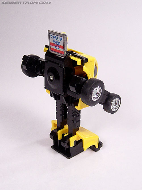 Transformers Micro Change MC04 Mini CAR Robo 02 XG1500 (Yellow) (Image #34 of 65)