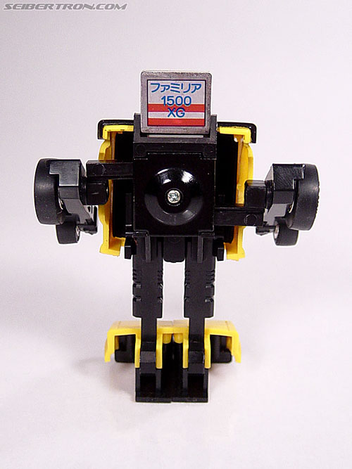 Transformers Micro Change MC04 Mini CAR Robo 02 XG1500 (Yellow) (Image #35 of 65)