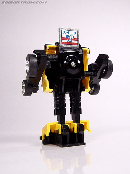 Transformers Micro Change MC04 Mini CAR Robo 02 XG1500 (Yellow) (Image #36 of 65)