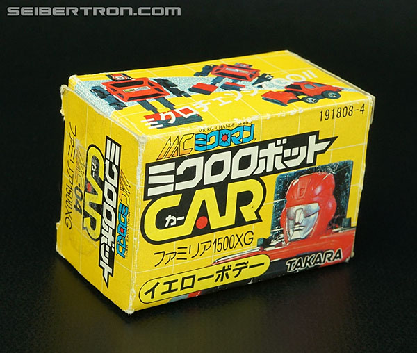 Transformers Micro Change MC04 Mini CAR Robo 02 XG1500 (Yellow) (Image #2 of 70)