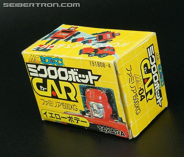 Transformers Micro Change MC04 Mini CAR Robo 02 XG1500 (Yellow) (Image #7 of 70)