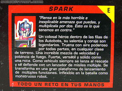 Transformers G1 1993 Spark (Pyro) (Image #16 of 166)