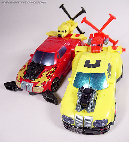 Transformers Armada Hot Shot (Hot Rod) (Image #1 of 94)