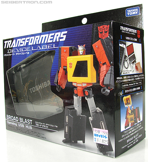 Transformers Device Label Blaster (Broad Blast) (Image #10 of 189)