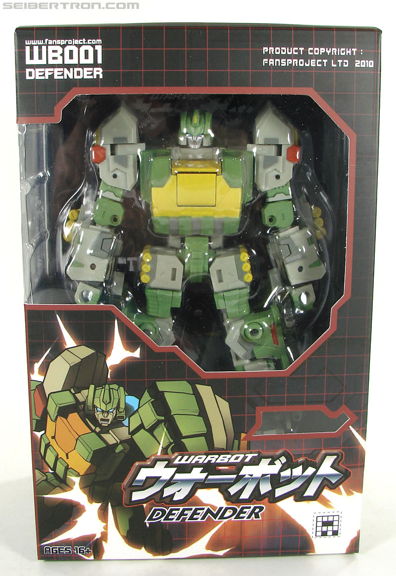 Transformers 3rd Party Products WB001 Warbot Defender (Springer) (Image #1 of 184)